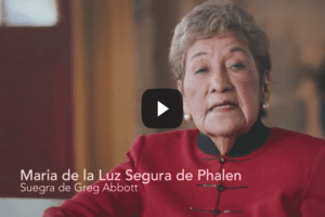 """Texans For Greg Abbott Releases New Statewide Television Ad: """"Madrina Dos"""""""