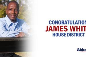 Governor Greg Abbott Congratulates Representative James White On Re-Election Victory
